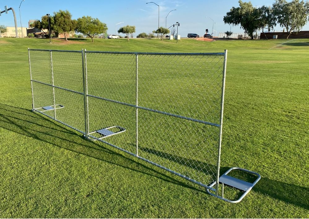 portable chain link fence panels for sale