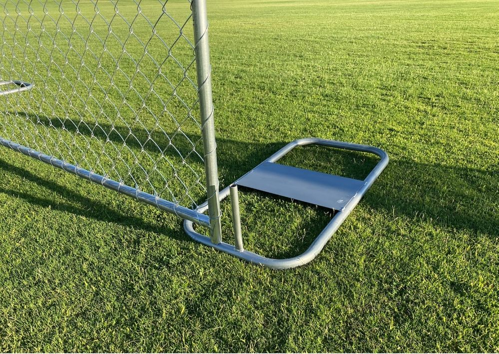 temporary chain link fence portable